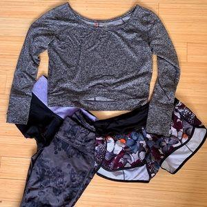 ATHLETIC BUNDLE - shorts, leggings, sweater
